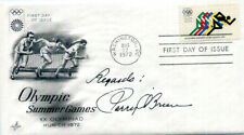 AUTHENTIC Olympic Shot Put Champion Parry O'Brien signed FDC