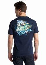 Columbia - Mens M - NWT - Navy Blue PFG Offshore Charm Fishing Cotton T-Shirt