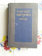 Plain Tales from the Hills by Kipling-Date Unknown-J.H.Sears-Circa 1900 (B9)