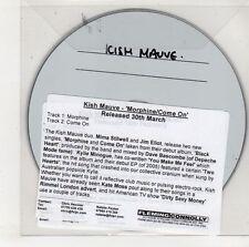 (GU588) Kish Mauve, Morphine / Come On - DJ CD