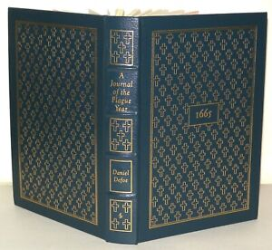 Daniel Defoe - Journal Plague Year- 1978 -  Easton Press Collectors Ed, Leather