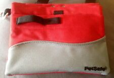 The Treat Pouch Red & Gray