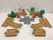 Fisher-Price GeoTrax Train Rail Track Pack with Accessories J3971 Complete!