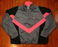 Vintage 90s Gray Tag Nike Windbreaker Color Block Men's Size XL