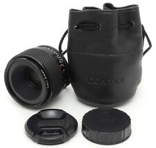 Contax Carl Zeiss Makro-Planar 60mm F2.8 C T* MMJ Lens. Filter.Case / Contax C/Y
