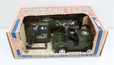 VINTAGE GAY TOYS COMMANDO TEAM US ARMY MILITARY VEHICLE HELICOPTER JEEP NO. 890