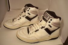 Rare Vintage Pony M-50 Hi Top Basketball Shoes Men Size 7 Black & White