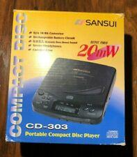 Sansui (CD-303) High Precision Digital D/A Converter Compact Disc/CD Player
