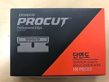 DORCO PROCUT Single Edge Blades 100pc Pack