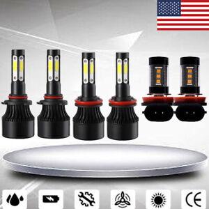For Honda Accord 2013-2018/ Pilot 2006-2015 LED Headlight Bulbs Fog Light Kit