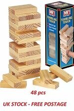Kids Traditional Games Jenga Educational Game Junior Childrens Birthday Gifts