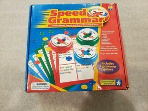 Speed Grammar Game Nouns Verbs Prepositions Adverbs Adjectives Homeschool Game