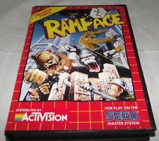 Rampage Sega Master System *No Manual*