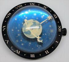 RARE VINTAGE CELESTIAL WESTCLOX GLALXY TABLE CLOCK STAR MOON BAKELITE 1936-38