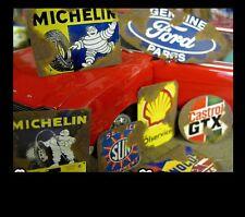 Deko Werbung Schilder Sign Rostig 1/18 Werkstatt Garage Tankstelle Diorama Deko