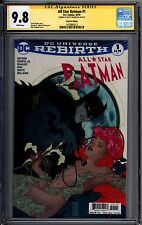 All Star Batman 1 Fried Pie Edition Caldwell CGC SS 9.8 Scott Snyder