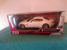 Gran Turismo Maserati Model White 1-24 Scale Motor max
