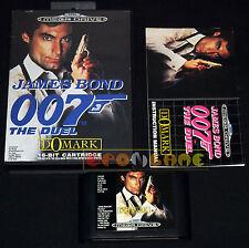 JAMES BOND 007 THE DUEL Megadrive Md Mega Drive Versione Europea PAL •• COMPLETO