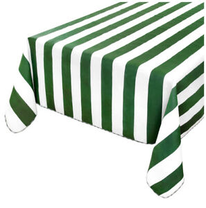 Tablecloth Cotton Broadside Lined Various Sizes Table Covering Garden Pe Cooking