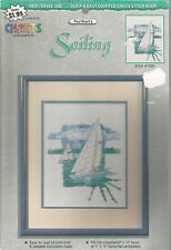 Sailing Cross Stitch Pattern by Color Charts, Inc. - Paul Brent - Book #10255