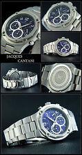 Valuable: Dark Star Azure Blue Men's Chronograph Watch A. D.H.Jacques Cantani