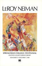 LeRoy Neiman-Springfield College Centennial-1984 Poster