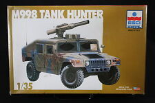 YC059 ESCI 1/35 maquette tank char 5017 M998 Tank Hunter