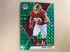 Chase Young 2020 Mosaic Green Mosaics Rookie RC #202 Washington Redskins  A21