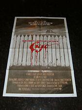 """CUJO Original 1983 Movie Poster, 27"""" x 41"""", C8 Very Fine - Stephen King"""