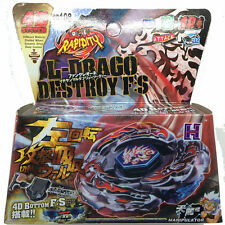 L-Drago Destroy Beyblade Top Metal Fusion Fight BB108 4D System + Launcher New