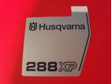 NEW HUSQVARNA RECOIL STARTER DECAL FITS 288XP 503709802 OEM FREE SHIPPING