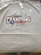 NEW NEVER WORN~New York Giants Super Bowl XLII Champions Rooster Shirt -Size XL