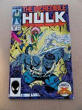 The Incredible Hulk 337 . X- Factor App . -  Marvel 1987 -   VF - minus