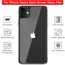 For iPhone 11 Pro Max XS XR 8 7 6S+ Tempered Glass Back Rear Screen Protector-WI