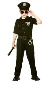 BOYS NEW YORK COP AMERICAN POLICE  COSTUME 11-13 yrs
