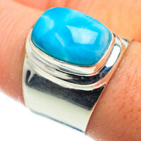 Larimar 925 Sterling Silver Ring Size 8.75 Ana Co Jewelry R41017F