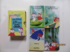 Walt Disney The Rescuers Little Library 1990 Book Set