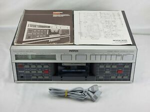 Revox B 215 Cassette Tape Deck with Manual & Power Cord - IN EXCELLENT CONDITION