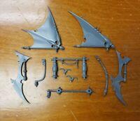 Warhammer 40k Dark Eldar Drukhari Bits:Raider Ravager Rudder Sail Tiller Control