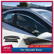 AUS Weather Shields Weathershields Window Visor for Hyundai KONA 17-20 #S