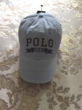 NWT $49.50 Polo Ralph Lauren Polo 1967 Chino Baseball Blue Cap. One Size.