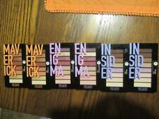 6x Revlon Colorstay Looks Book Palette Eye Shadow Maverick Enigma Insider SIX Pc