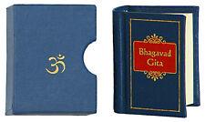 Miniature BHAGAVAD GITA MiniPocketSmall Book wCOVER Sanskrit ENGLISH Translation