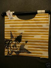 NWT! VOLCOM STRIPE STAR HUGE PURSE HANDBAG URBAN EMO