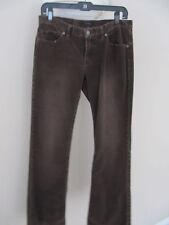 Women's Express Corduroy Brown Pants 6 X 31