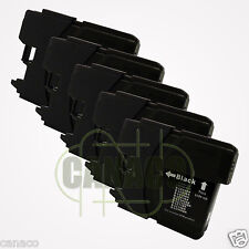5 Black Ink for LC 61 LC-61 LC61BK LC61 Ink Cartridge