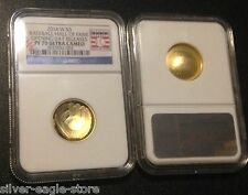 2014 W NGC PF70 GOLD $5 PROOF BASEBALL HALL OF FAME OPENING DAY RELEASES 1/4 OZ