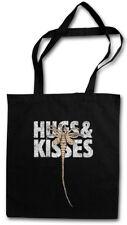 HUGS & KISSES STOFFTASCHE EINKAUFSTASCHE XOXO Prometheus Alien Face Hugger