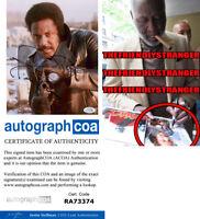 """RICHARD ROUNDTREE signed Autographed """"SHAFT"""" 8X10 PHOTO - EXACT PROOF - ACOA COA"""