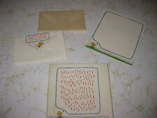 SNOOPY & Woodstock Peanuts Vintage Hallmark Stationary Set  PARTIAL with BOX
